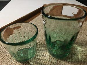 今日買ってきたグラス