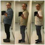 ダイエット半年後の途中経過 13キロ痩せた比較画像
